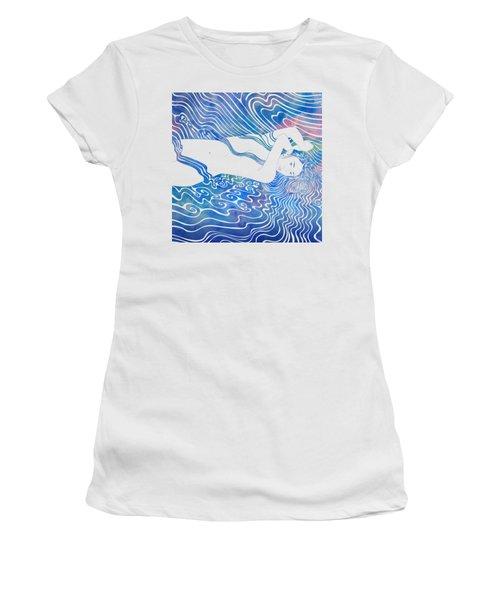 Water Nymph Lxxxiii Women's T-Shirt (Junior Cut) by Stevyn Llewellyn