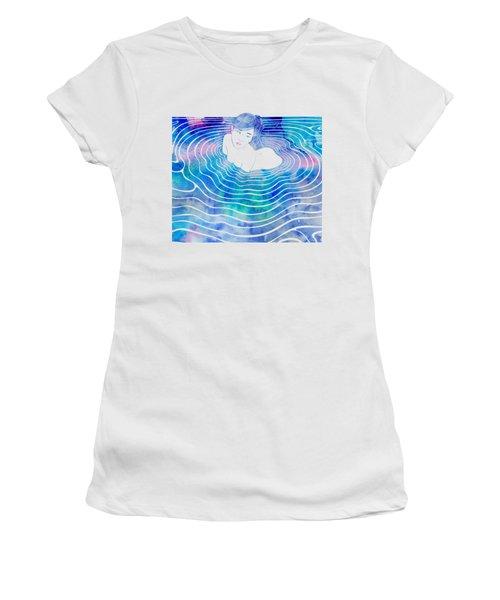 Water Nymph Lxxxix Women's T-Shirt (Junior Cut) by Stevyn Llewellyn