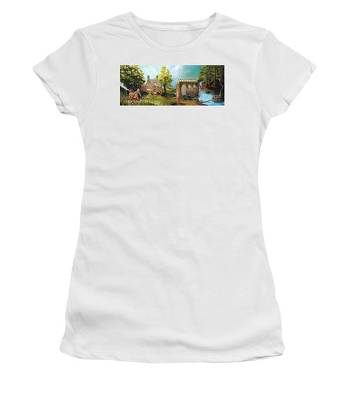 Water Wheel Women's T-Shirt