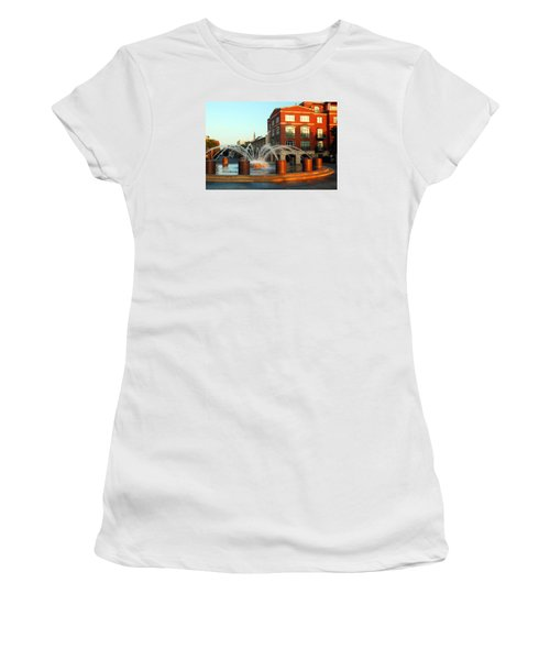 Waterfront Park Charleston Women's T-Shirt (Junior Cut)