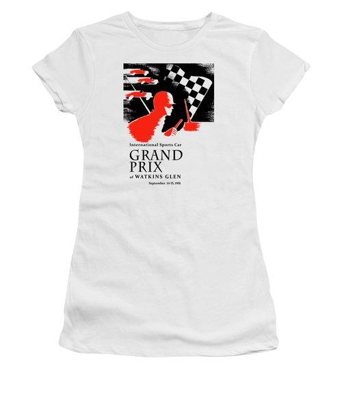 Watkins Glen Grand Prix 1951 Women's T-Shirt