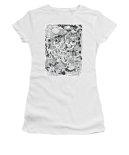 We All Love Cheese Women's T-Shirt