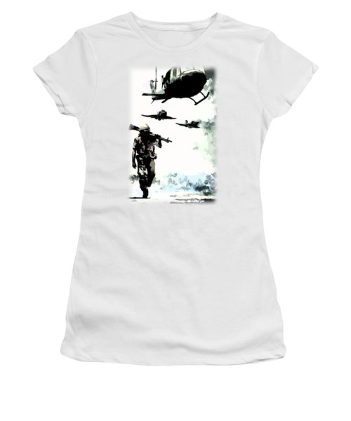 We Come Home Women's T-Shirt (Athletic Fit)