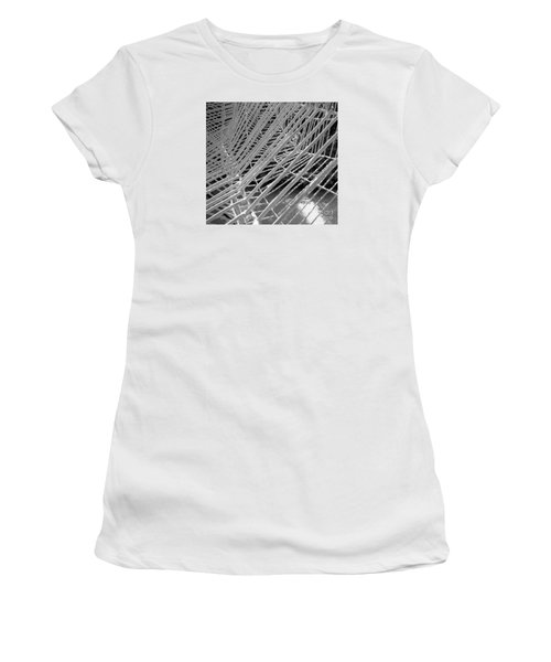 Web Wired Women's T-Shirt (Athletic Fit)