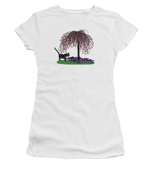 Welcome To Spring Women's T-Shirt (Athletic Fit)