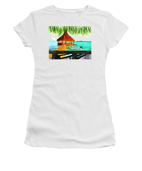 West End Roatan Women's T-Shirt (Athletic Fit)