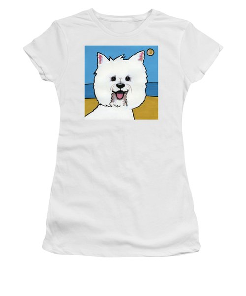 West Highland Terrier Women's T-Shirt (Athletic Fit)