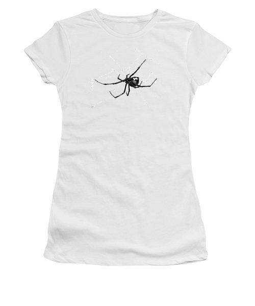 Western Black Widow Women's T-Shirt (Athletic Fit)