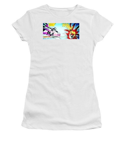 Whaam Women's T-Shirt (Athletic Fit)