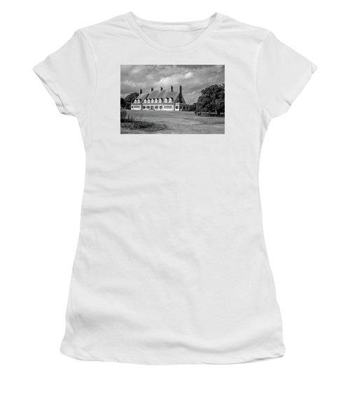 Whalehead Club Women's T-Shirt (Junior Cut) by David Sutton