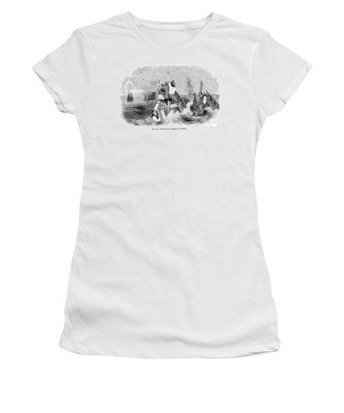 Whaling, C1830 Women's T-Shirt