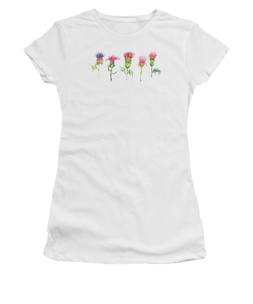 What Is It About A Thistle Fl006 Women's T-Shirt (Athletic Fit)