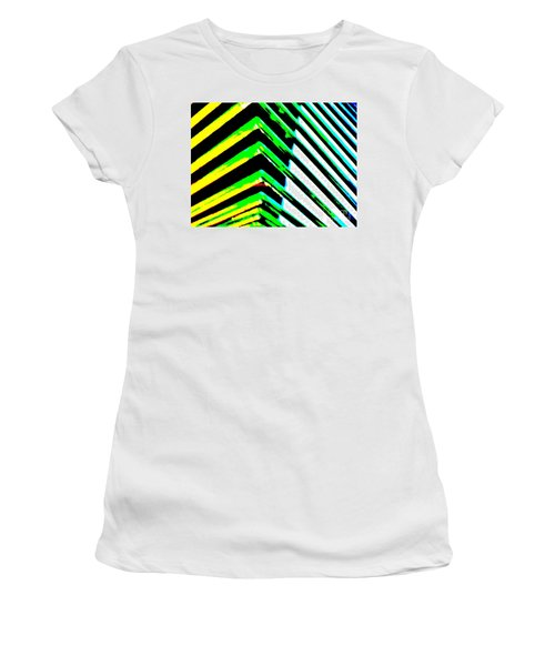 Whats Your Angle Women's T-Shirt (Junior Cut) by Tim Townsend