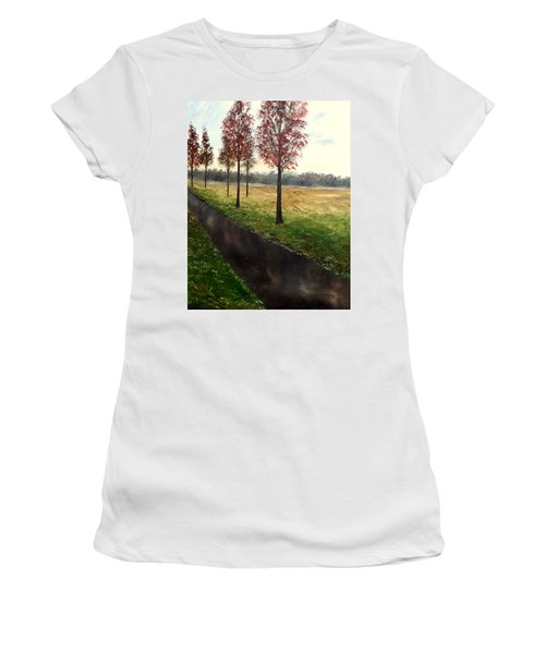 When I Think Of You Women's T-Shirt (Junior Cut) by Lisa Aerts
