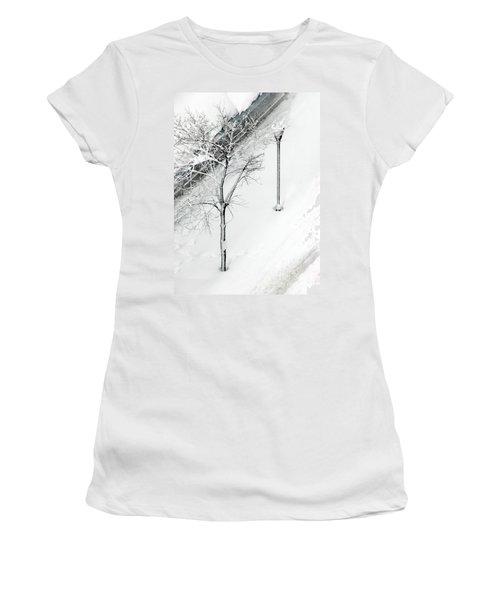 When Nature Quiets The City Women's T-Shirt (Athletic Fit)