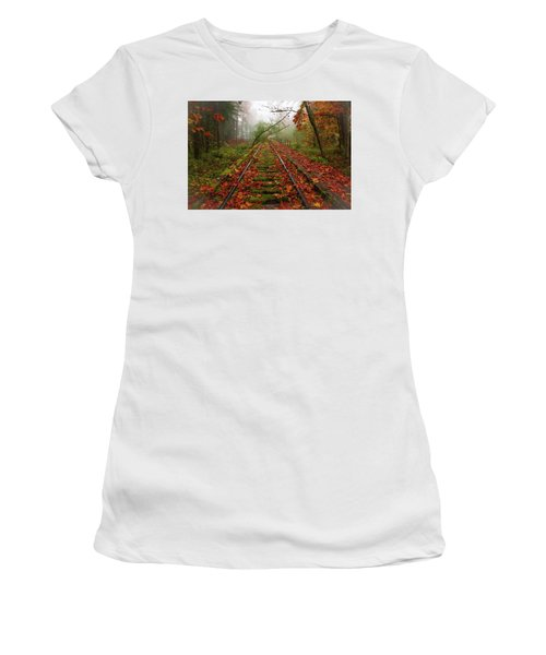 When The Fog Rolls In And My Progress Slows... Women's T-Shirt