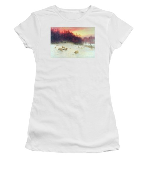 When The West With Evening Glows Women's T-Shirt (Athletic Fit)
