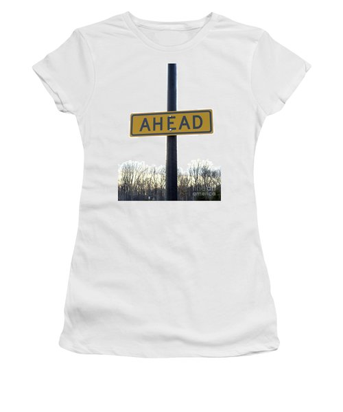 Where The Great Unknown Lies Women's T-Shirt