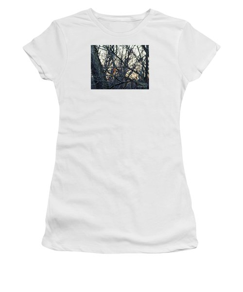 Where The Wild Things Are Women's T-Shirt (Junior Cut) by Sandy Molinaro