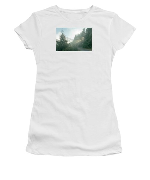 Where Will Your Road Take You? Women's T-Shirt