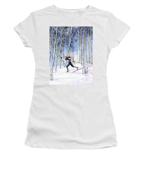 Whispering Tracks Women's T-Shirt
