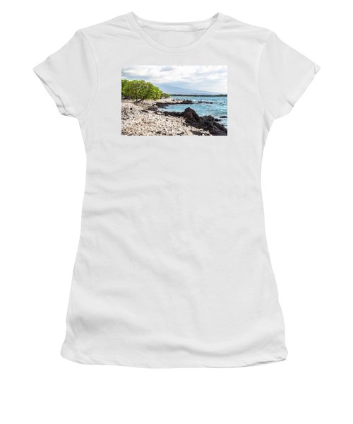 White Coral Coast Women's T-Shirt