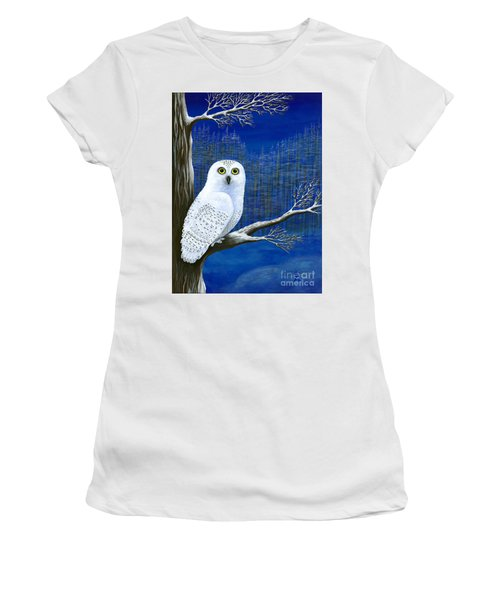 White Delivery Women's T-Shirt (Athletic Fit)