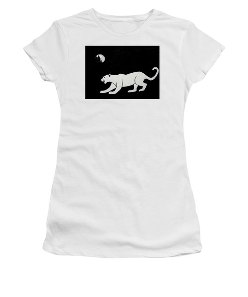 White Panther Women's T-Shirt (Athletic Fit)