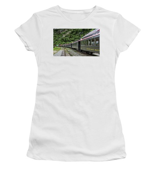 White Pass And Yukon Railway Women's T-Shirt (Athletic Fit)