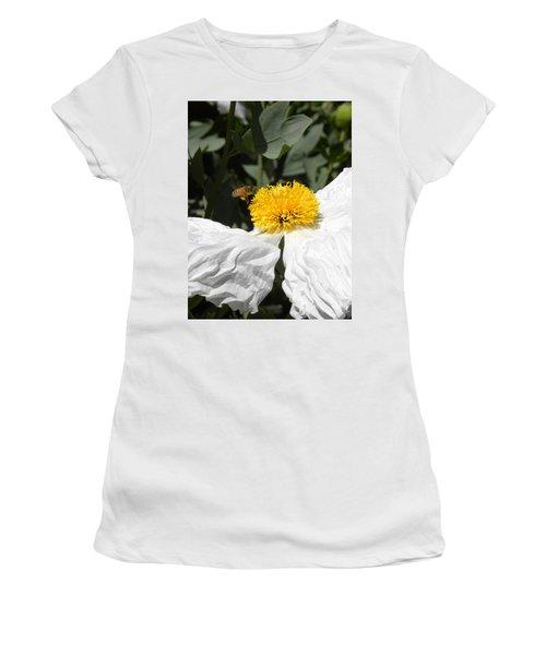 White Poppy Women's T-Shirt