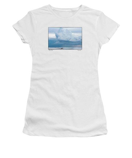 White Sands Cloud Women's T-Shirt (Athletic Fit)