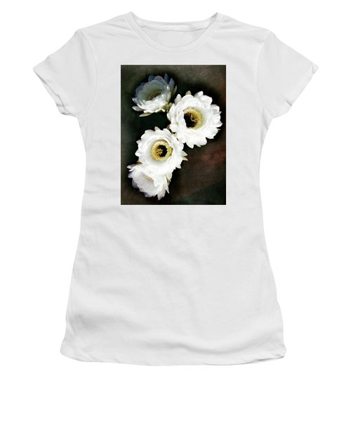 White Torch Blooms Women's T-Shirt