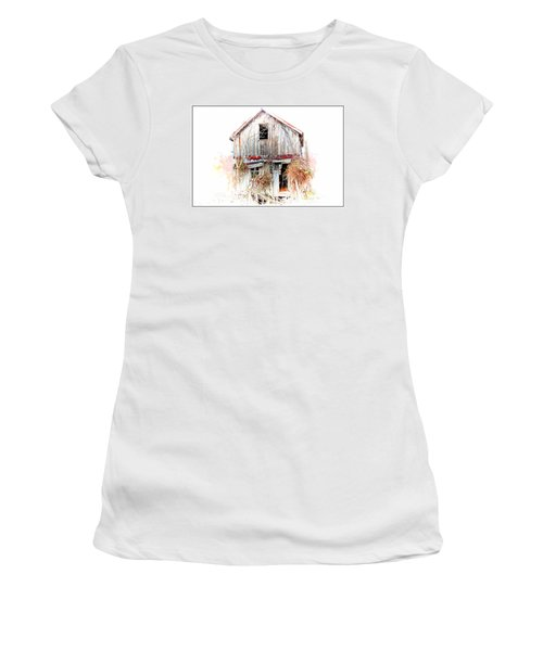 Whiteout In Opequon Women's T-Shirt (Athletic Fit)
