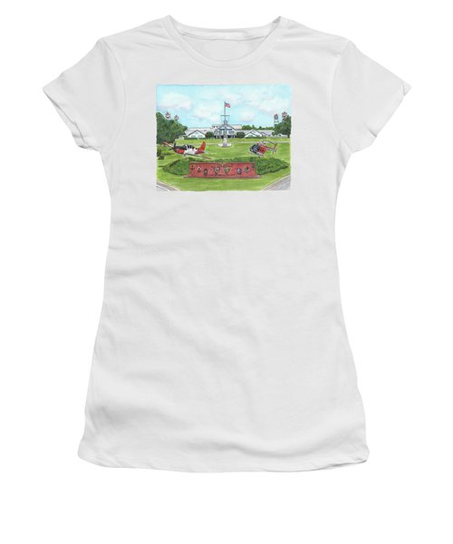 Whiting Field Welcome Sign Women's T-Shirt