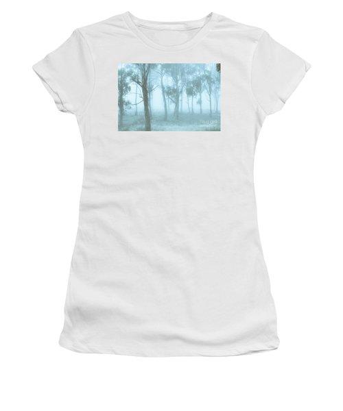 Wild Blue Woodland Women's T-Shirt