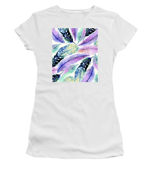 Wild Feathers Women's T-Shirt (Athletic Fit)