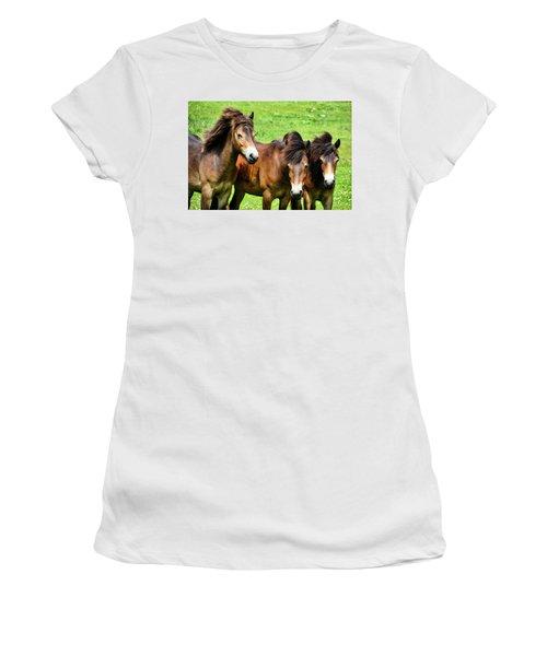 Wild Horses 2 Women's T-Shirt
