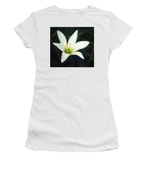 Women's T-Shirt (Junior Cut) featuring the photograph Wild Lily by Carolyn Marshall