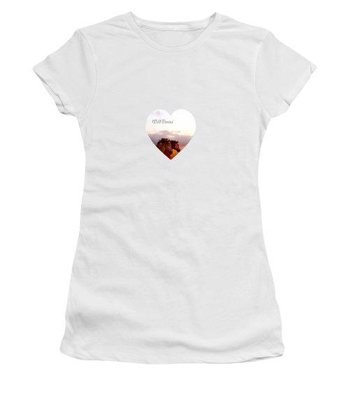 Wild Moorland Ponies Women's T-Shirt