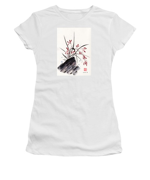 Open Hearts Women's T-Shirt (Athletic Fit)