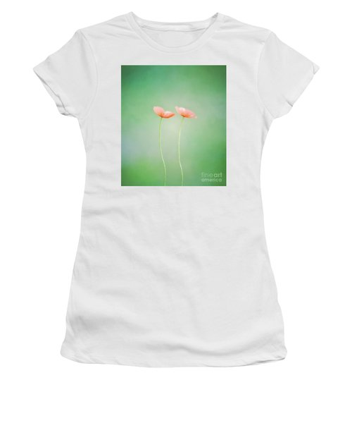 Wildflower Duet Women's T-Shirt (Athletic Fit)