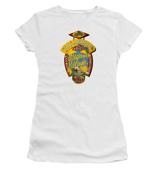 Wildflower Village Women's T-Shirt (Athletic Fit)