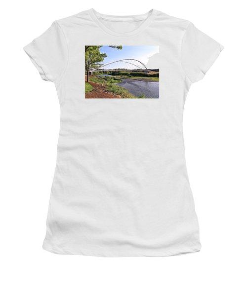 Willamette Pedestrian Bridge Women's T-Shirt