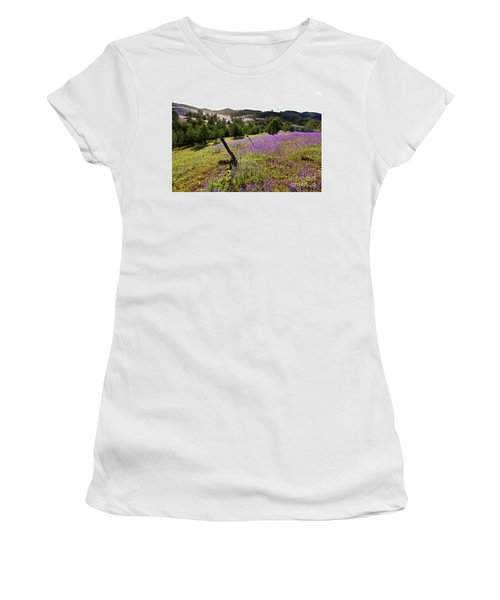 Willow Springs Station Women's T-Shirt (Junior Cut) by Bill Robinson