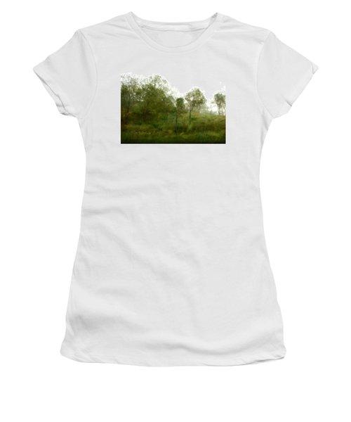 Wind Storm Women's T-Shirt (Junior Cut) by Linde Townsend