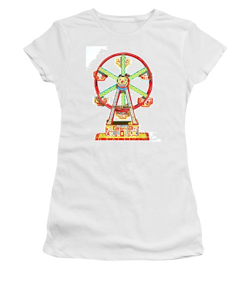 Wind-up Ferris Wheel Women's T-Shirt (Athletic Fit)