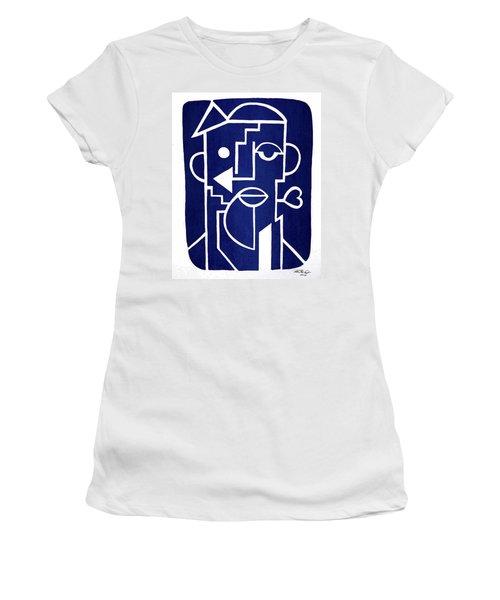 Wind Up Man By Erod Art Women's T-Shirt