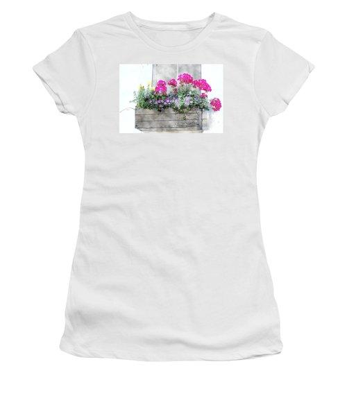 Window Box 5 Women's T-Shirt