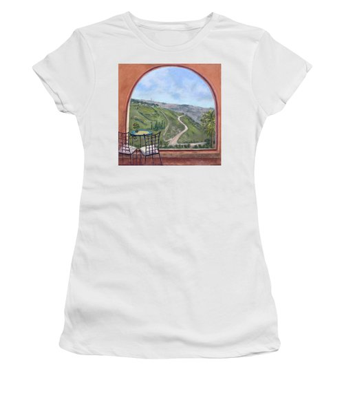Window To Jerusalem Women's T-Shirt (Athletic Fit)