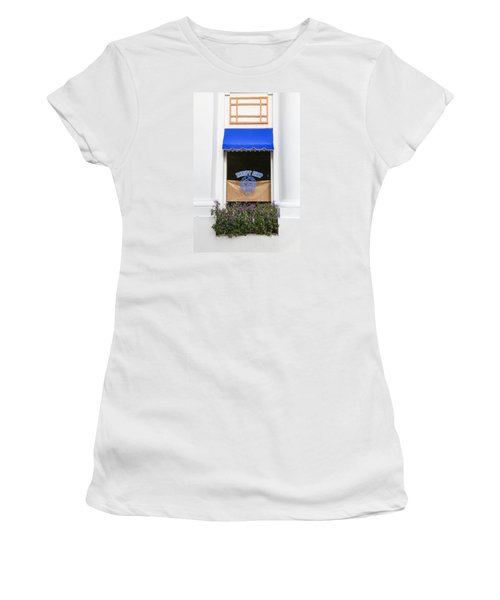 Women's T-Shirt featuring the photograph Window Trimming by Dart and Suze Humeston